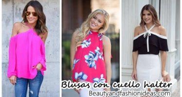 26 modelos de blusas cuello halter