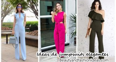 Ideas de looks con jumpsuits muy elegantes
