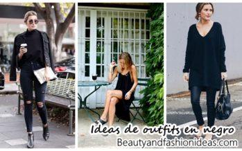 Ideas de outfits en negro