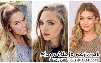 Inspiración para un maquillaje natural
