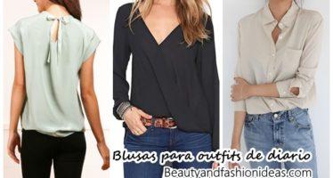 Lindas blusas que puedes usar para tus outfits de diario
