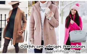 Looks muy femeninos con abrigos