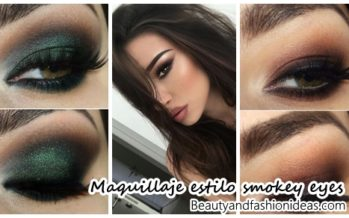 Maquillaje de ojos estilo smokey eyes