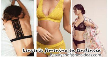 Modelos de lenceria fina en tendencia