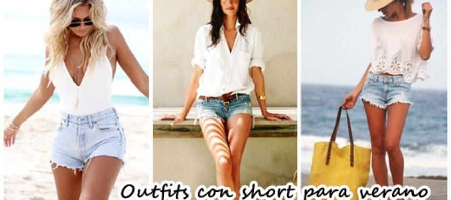 Outfits con short para este verano
