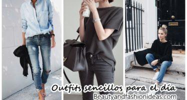 Outfits sencillos para el día a día