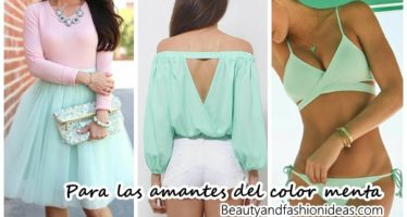 Para las amantes del color menta ¡Mira estas ideas!