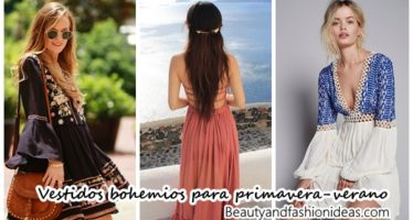 Vestidos estilo bohemio ideales para primavera-verano