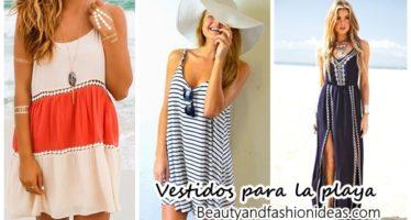 Vestidos que podemos usar para ir a la playa