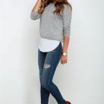 28 Ideas de outfits usando el color gris