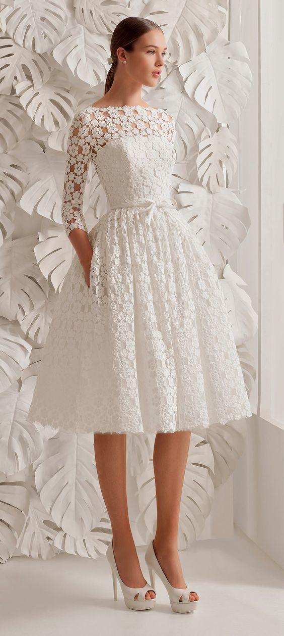 Bonito Vestidos De Novia Ideales Ideas Ornamento Elaboración ...
