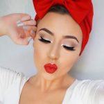 36 Ideas de maquillaje en tonalidad rojo