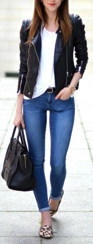 40 Outfits con jeans para tu día a día