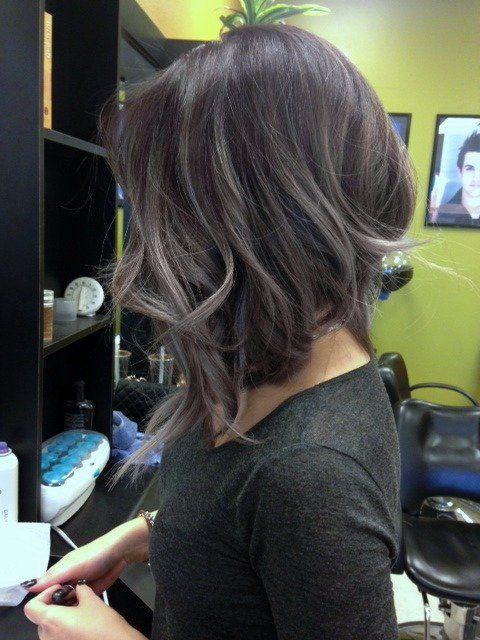 Mechas balayage en pelo corto