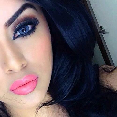 d4e5e19f16 maquillaje-para-chicas-con-cabello-oscuro (16) | Beauty and fashion ...