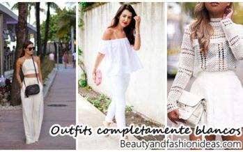 Outfits completamente blancos ideales para el verano
