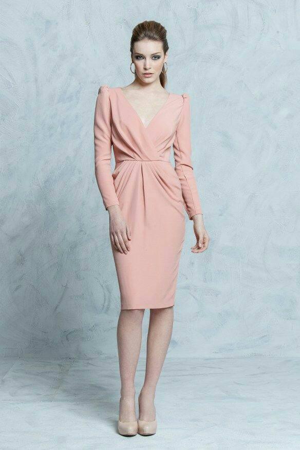 Vestidos En Color Rosa Palo 10 Beauty And Fashion Ideas