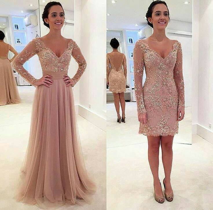 Vestidos En Color Rosa Palo 3 Beauty And Fashion Ideas