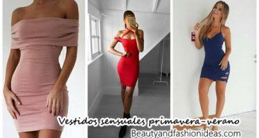 Vestidos sensuales primavera-verano 2017