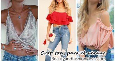 32 Crop tops para usar en el verano