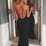 32 Vestidos de fiesta negros largos