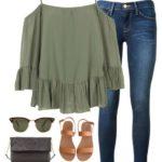 36 Outfits con sandalias de piso