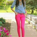 37 Outfits con toques de color fucsia ¡Super femeninos!