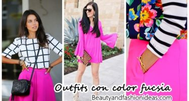 37 Outfits con toques de color fucsia ¡Super femeninos!
