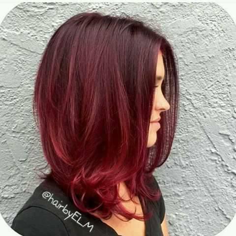 Rotliches Haar Ein Trend Der Aus Der Mode Haar Rottonen Ein Trend