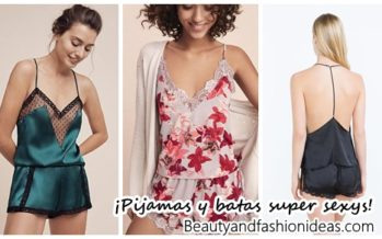 Diseños de pijamas y batas para dormir ¡super sexys!