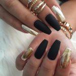 Los mejores 38 diseños de uñas matte 2017