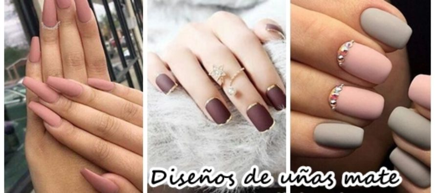 Los mejores 38 dise os de u as matte 2017 beauty and for Nageldesign matt