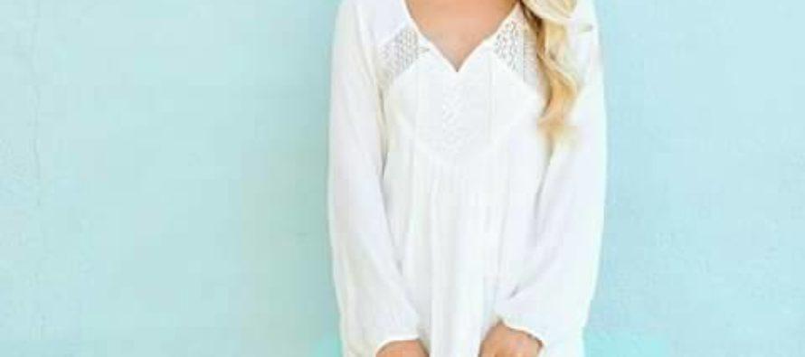 Outfits con escotes en V ideal para alargar cuello