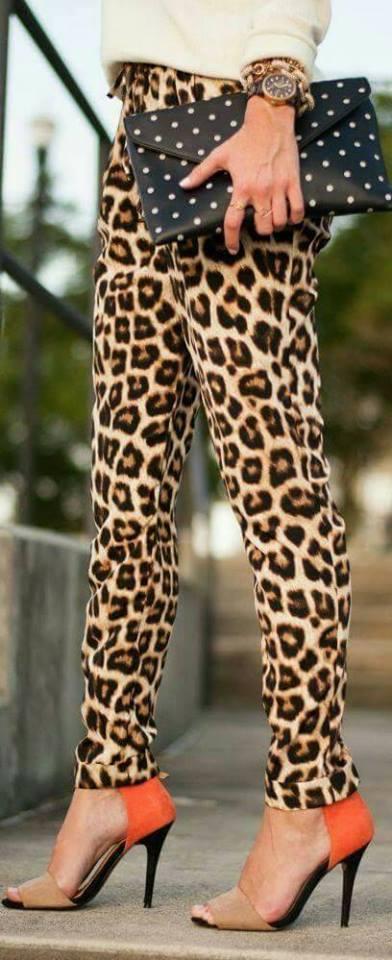 Outfits con estampado animal print