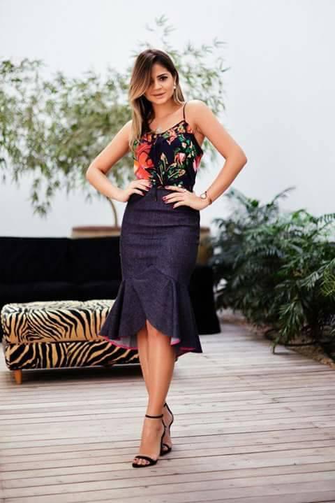 Outfits Con Olanes Una De Las Tendencias Del 2017 Beauty
