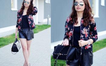 Outfits con estampados de flores para primavera-verano