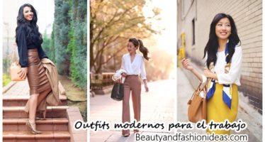 Outfits formales para el trabajo pero con toques modernos