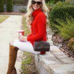 Outfits utilizando color rojo