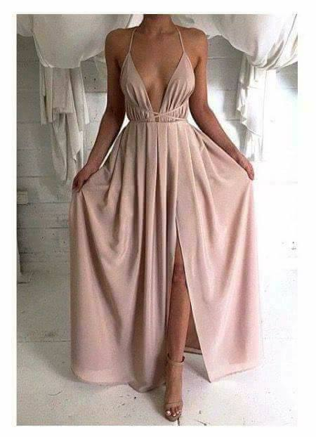 Vestidos De Fiesta Color Nude 14 Beauty And Fashion