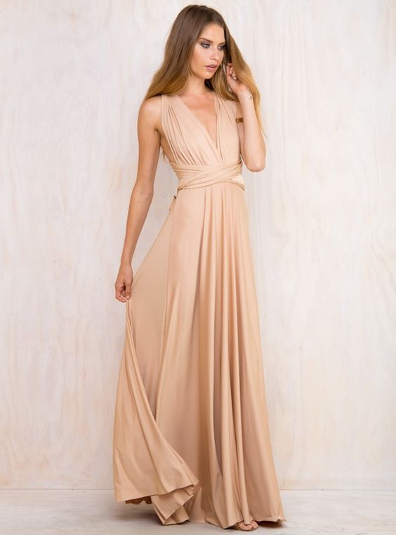 Vestidos De Fiesta Color Nude 27 Beauty And Fashion