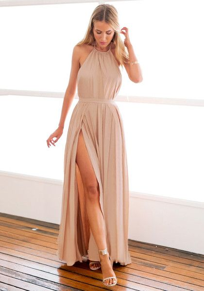 Vestidos De Fiesta Color Nude 31 Beauty And Fashion