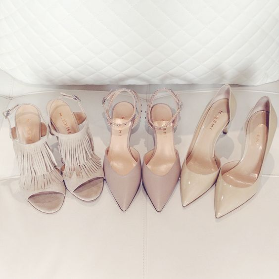 Zapatillas nude ideales para alargar tus piernas