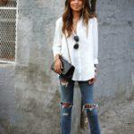 27 maneras diferentes de combinar una blusa blanca