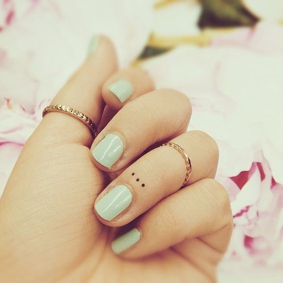 Diseños de tatuajes pequeños para chicas discretas