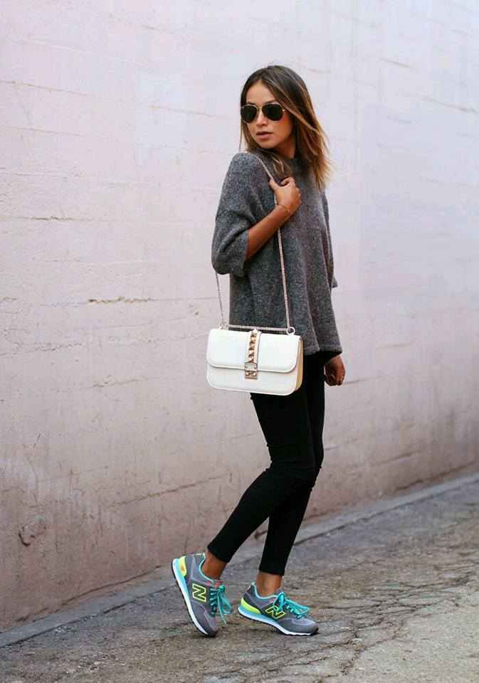 Outfits-con-tenis (20) | Beauty and fashion ideas Fashion Trends Latest Fashion Ideas and Style ...