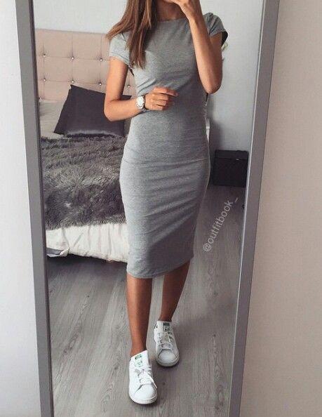 Outfits de moda usando tenis