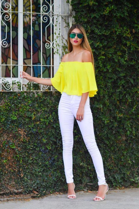 Outfits de temporada con color amarillo | Beauty and fashion ideas Fashion Trends Latest ...