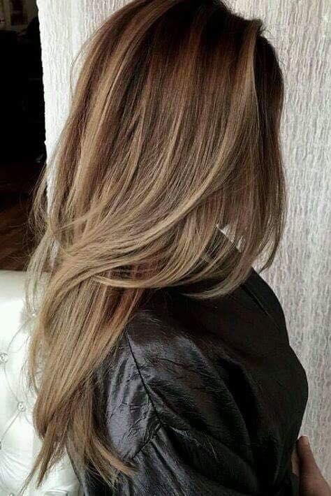 Tonos de cabello castaños para morenas