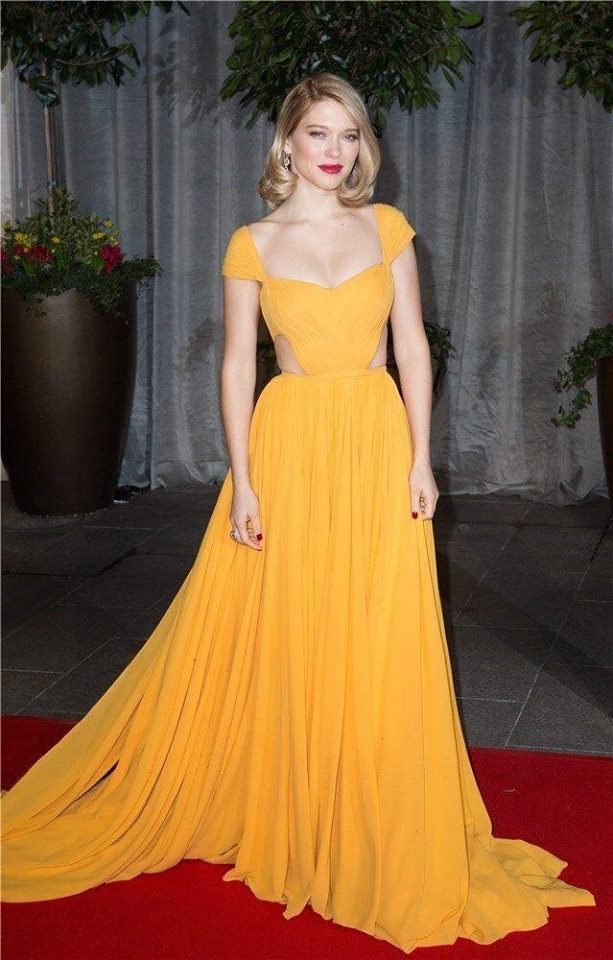 Vestidos 2017 Color Amarillo 18 Beauty And Fashion Ideas