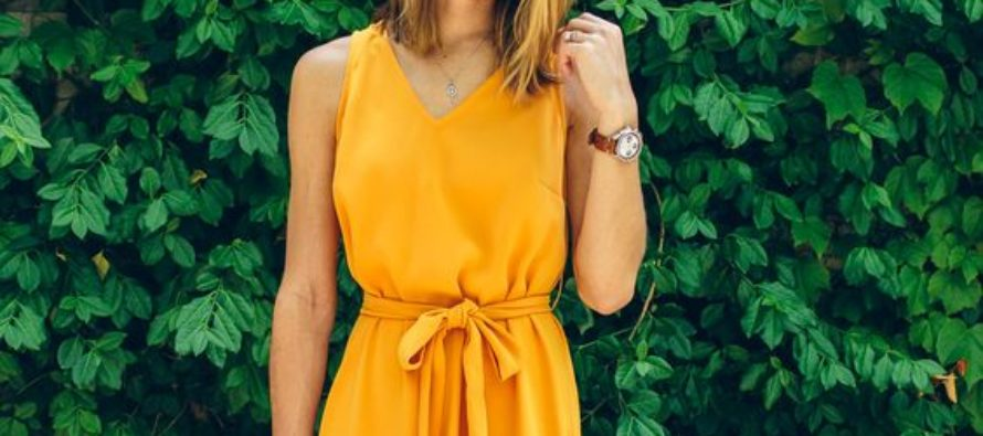 Vestidos 2017 color amarillo